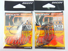 Decoy - 2pack x kg Hook Worm 17 #2/0