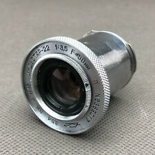 Industar 22 Soviet Lens M39 USSR f3.5 KMZ 50mm Leitz Elmar Copy Russian PARTS