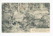 Ural Mountain Scene—Antique RUSSIA Postcard—Oural Росси́я открытка 1910s
