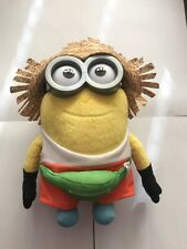 Despicable Me 3 - Freedonian Dave Large Minion Straw Hat Plush Toy