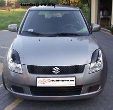 Suzuki Swift III Scheinwerferblenden Böser Blick  GFK
