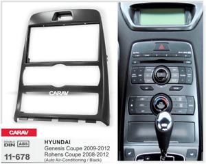 CARAV 11-678 Car Radio Fascia Stereo Trim Dash Kit For HYUNDAI Genesis Coupe