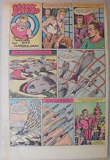 Brick Bradford Sunday by Ritt and Gray from 5/17/1942 Tabloid Size Page! Rare!
