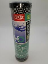 Dupont Wfpfc9001 Universal Carbon Block Water Pre Filter Cartridge New 900 serie