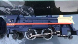 2010 Lionel lines 246X Scout 2-4-2 Locomotive with whistling Tender new no box