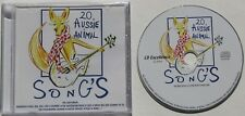 20 AUSSIE ANIMAL SONGS..THE WAYFARERS.......20 TRACK MUSIC CD