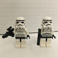 LEGO Star Wars Minifigure sw036b Stormtrooper 7659  Solid Black Head