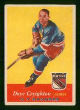 DAVE CREIGHTON 1957-58 TOPPS 57-58 NO 66 FAIR-GOOD  37224