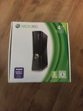 Microsoft Xbox 360 S Console 4GB in Matte Black Model 1439