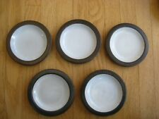 New ListingHeath Ceramics Mid Century Pottery 5 saucers Made in Sausalito