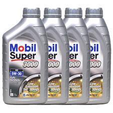 MOBIL SUPER 3000 XE 5W30 CONFEZIONE DA 4X1 LITRO OLIO MOTORE SINTETICO 502 505