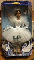 NRFB Barbie as the Swan Queen in Swan Lake (African American) 1998