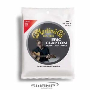 Martin MEC12 Eric Clapton Strings 92/8 Phosphor Bronze Light String Set 12-54