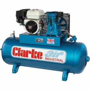Petrol Air Compressor.  Industrial Air Compressor with 6.5hp Honda Engine 15CFM