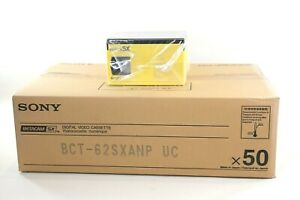 Sony Betacam SX BCT-62SXA 62 Minuute Tape Small Shell. 50 tapes.Clearance!