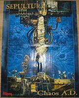 ⭐⭐⭐⭐  SEPULTURA ⭐⭐⭐⭐  HUNTRESS ⭐⭐⭐⭐ 1 Poster ⭐⭐⭐⭐  Plakat 43,5 cm x 59 cm ⭐⭐⭐⭐