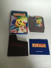 Boxed - Pac-Man Nintendo NES Complete Very Rare - Free Pp