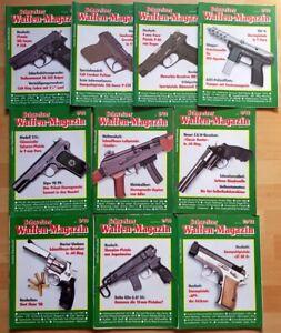 10x Schweizer Waffenmagazin 1988 komplett Zeitschrift Pistolen Hefte Jahrgang