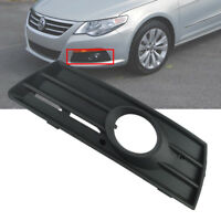 FOR VW PASSAT CC 2009-2011 FRONT BUMPER GRILLE WITH FOG LIGHTS HOLE LEFT N/S