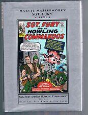 Sgt. Fury & His Howling Commandos Marvel Masterworks Vol 1 (2006 HC) Kirby & Lee