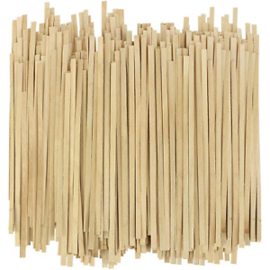 1000 Pieces Wooden Coffee Stirrers 5.5 Inch Stir Stick Natural & Renewable NEW