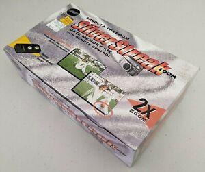 Minolta Silver Streak Zoom 35-70mm Camera With Original Case and Remote New