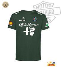 T-shirt team ALFA ROMEO QUADRIFOGLIO LIVREA F1 corse Pirelli replica FANS