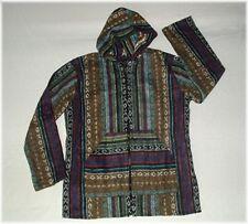 439d2878b78f85 S/M * BAJA Zip HOODY Kapuzen-JACKE Boho ETHNO Hippie Öko alternativ Style