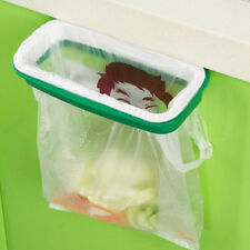 Kitchen Bracket  Garbage Trash Bag Rack Attach Holder Cabinet Cupboard Portable