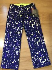 Under Armour Storm2 Snow Pants Youth XL Purple Yellow NEW!!!