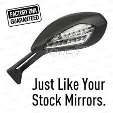 OEM Replace Mirror Black for Ducati 1299 Panigale S '16 X1 Left Hand