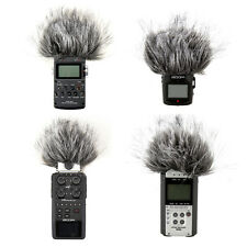 Black Fur Windscreen For Zoom H4N H6 H2 H4 Handheld Recorder Sony PCM-D1 D50
