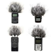 Black Fur Windscreen For Zoom H4N H6 H2 H4 Handheld Recorder Sony PCM-D1 D50
