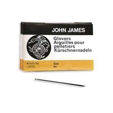 John James Glovers Needles Size 12 Leather Needle 43606 Craft Bulk Pack 25 L3910
