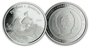Bullion coin 2 Dollars Antigua and Barbuda 2020 1 oz BU silver 999‰ – Rum runner