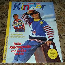 Sabrina Extra  Kinder von 1994 Stricken Strickheft Handarbeitsheft Bilderpulli