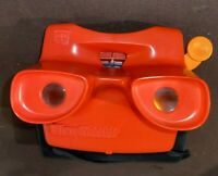 View-Master Viewer Reel Lot Set 2 Discovery 3D Reels  Classic Toy Red