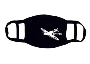 Spitfire Adult Cotton Face Mask | Face Covering | Mouth Cover Protective Mask