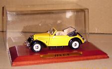 IFA f8 f 8 cabriolet atlas amarillo/negro 1:43 detalle exactamente muy buen estado