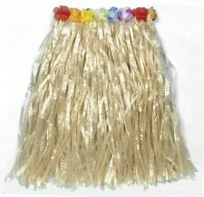 Hawaiian Hula Beach Hawaii Grass Skirt 60cm length Fancy Dress NEW P7387