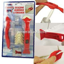 FAITHFULL SILICONE REMOVER AND FINISHER TOOL KIT SILICONE FINGER FOR CLEAN LINES