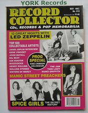 RECORD COLLECTOR MAGAZINE - Issue 213 May 1997 - Led Zeppelin / Manics