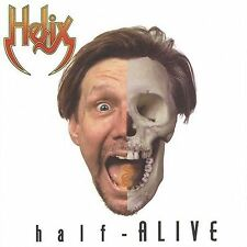 HELIX - Half-Alive (CD, 1998 D-Rock) - Live plus Studio - Very Good to Excellent