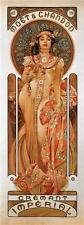 Alphonse Mucha Art Nouveau Champagne Moet Chandon Cremant Imperial Poster Print