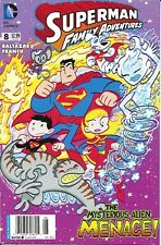 Superman Comic Issue 8 Family Adventures Modern Age First Print 2013 Baltazar DC
