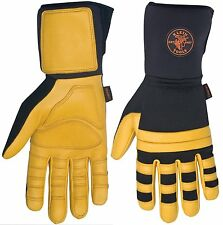 Klein Tools 40082 Lineman Work Gloves, Large