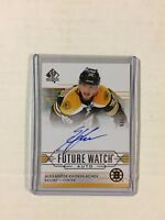 2014-15 SP AUTHENTIC FUTURE WATCH ALEXANDER KHOKHLACHEV AUTOGRAPH RC 766/999