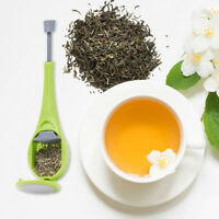 Food Grade Silicone Tea Infuser Strainer Bags Loose Leaf Steeper Press Tea Filt