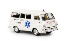 Brekina 34323 - 1/87 Dodge A 100 Bus - Tampa Ambulance - Neu