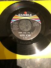 Brothers Of Hope Spring Fever Part 1&2 Gamble Records US Press Ex
